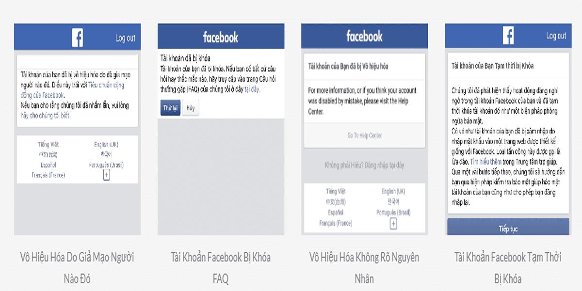 Cách khôi phục tài khoản Facebook bị khóa