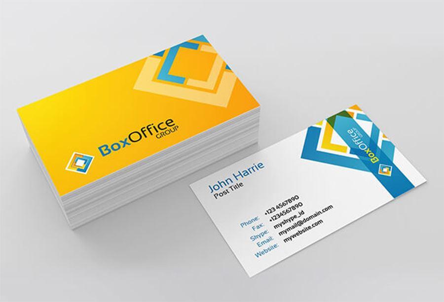 thiết kế name card giá rẻ